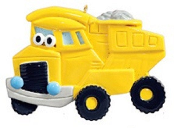 Toy Dump Truck Christmas Orament