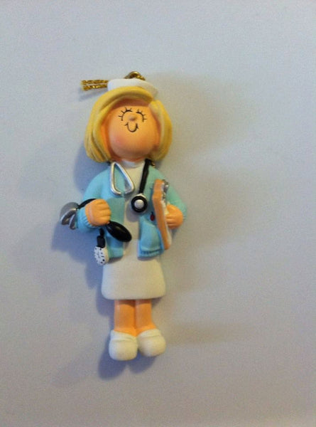 Nurse-Personalized Christmas Ornament