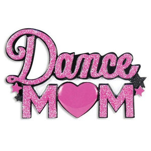 Dance Mom Glitter Personalized Christmas Ornament