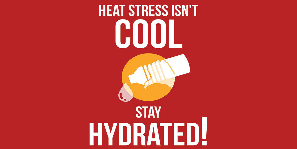 Tips For Protecting Workers From Heat Stress Safety Poster