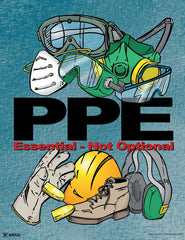 PPE safety poster