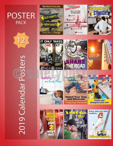 Safety Posters Pack - 2019 Calendar Poster Packs