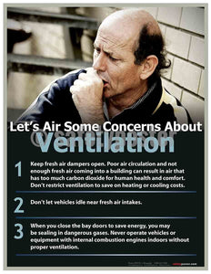 Safety Poster - Let's Air Some Concerns About Ventilation - safetyposter.com