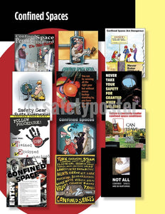 Safety Posters Pack - Confined Space Poster Packs