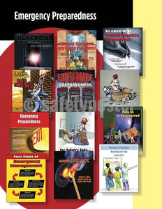 Safety Posters Pack - Emergency Preparedness Poster Packs