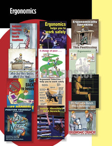 Safety Posters Pack - Ergonomics Poster Packs