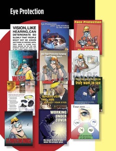 Safety Posters Pack - Eye Protection Poster Packs