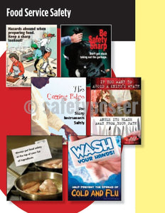 Safety Posters Pack - Food Service Poster Packs