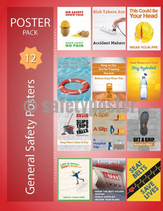 Safety Posters Pack - General Safety - safetyposter.com