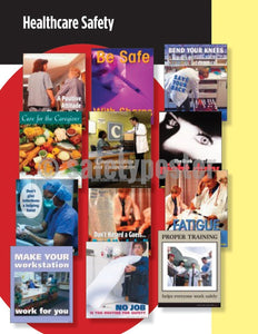 Safety Posters Pack - Healthcare #2 Poster Packs