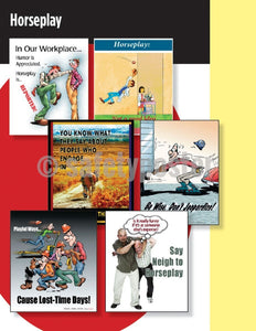 Safety Posters Pack - Horseplay Poster Packs