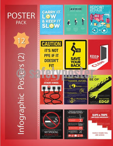 Safety Posters Pack - Infographic Pack #2 - safetyposter.com