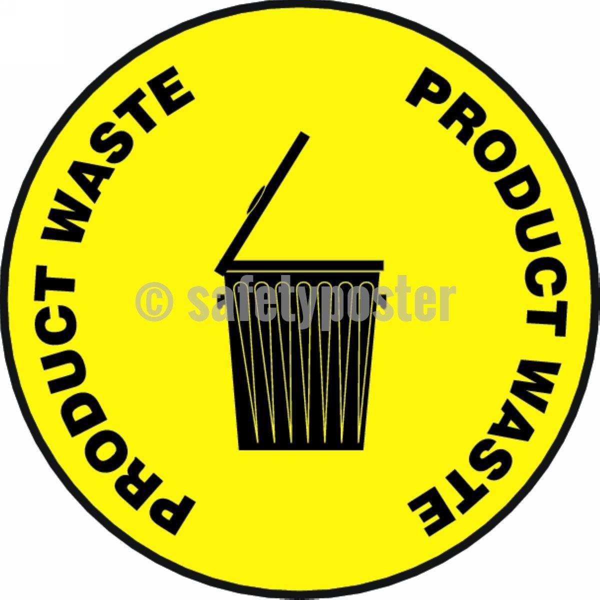 Product Waste - Floor Sign Adhesive Signs