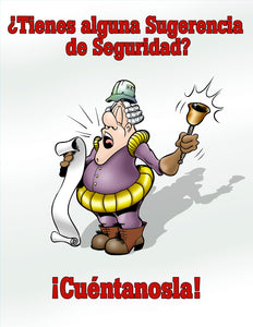 Got A Safety Concern? Let's Hear About It! - Spanish Safety Poster