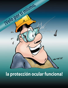 Eye Protection Works - Spanish Safety Poster