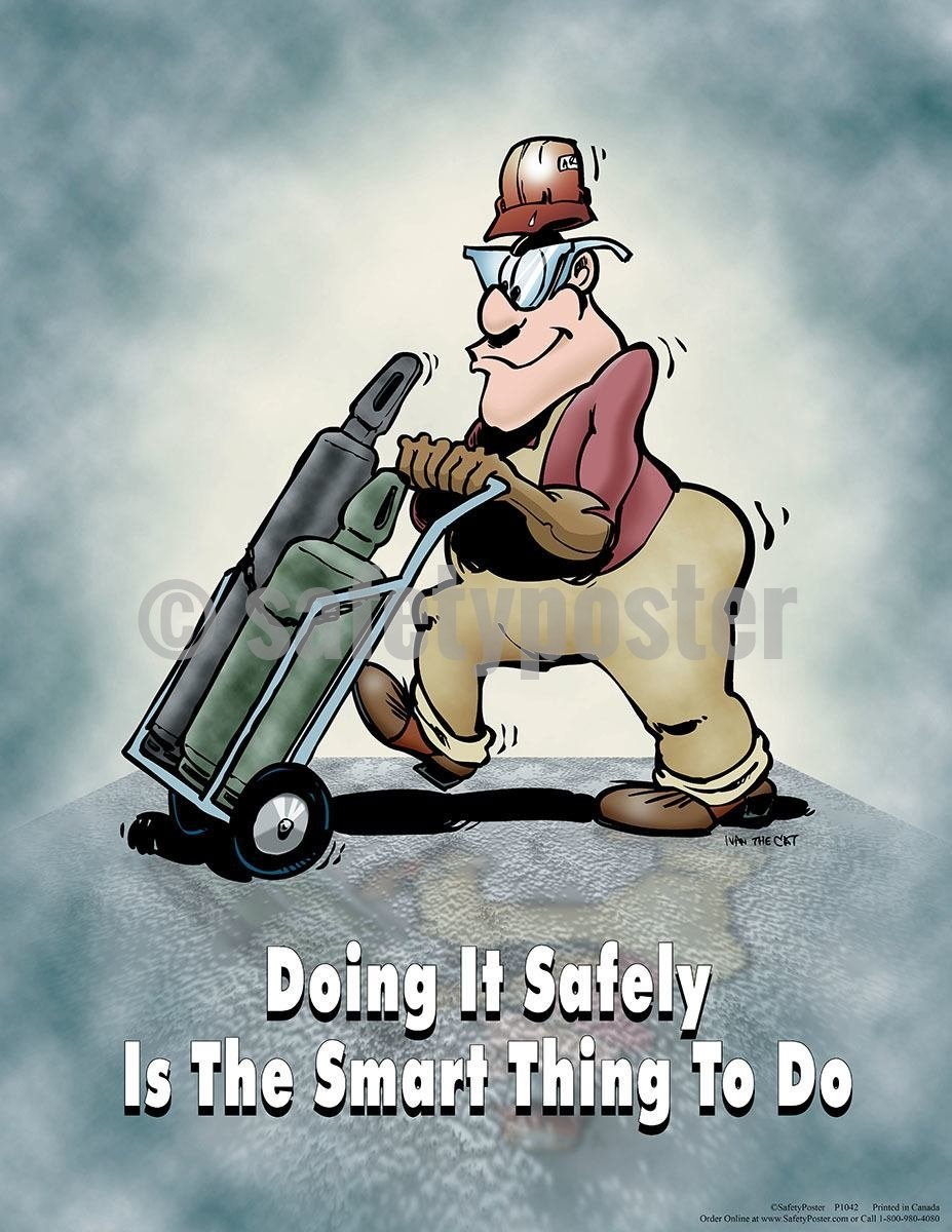 Safety Poster - Doing It Safely Is The Smart Thing To Do - safetyposter.com