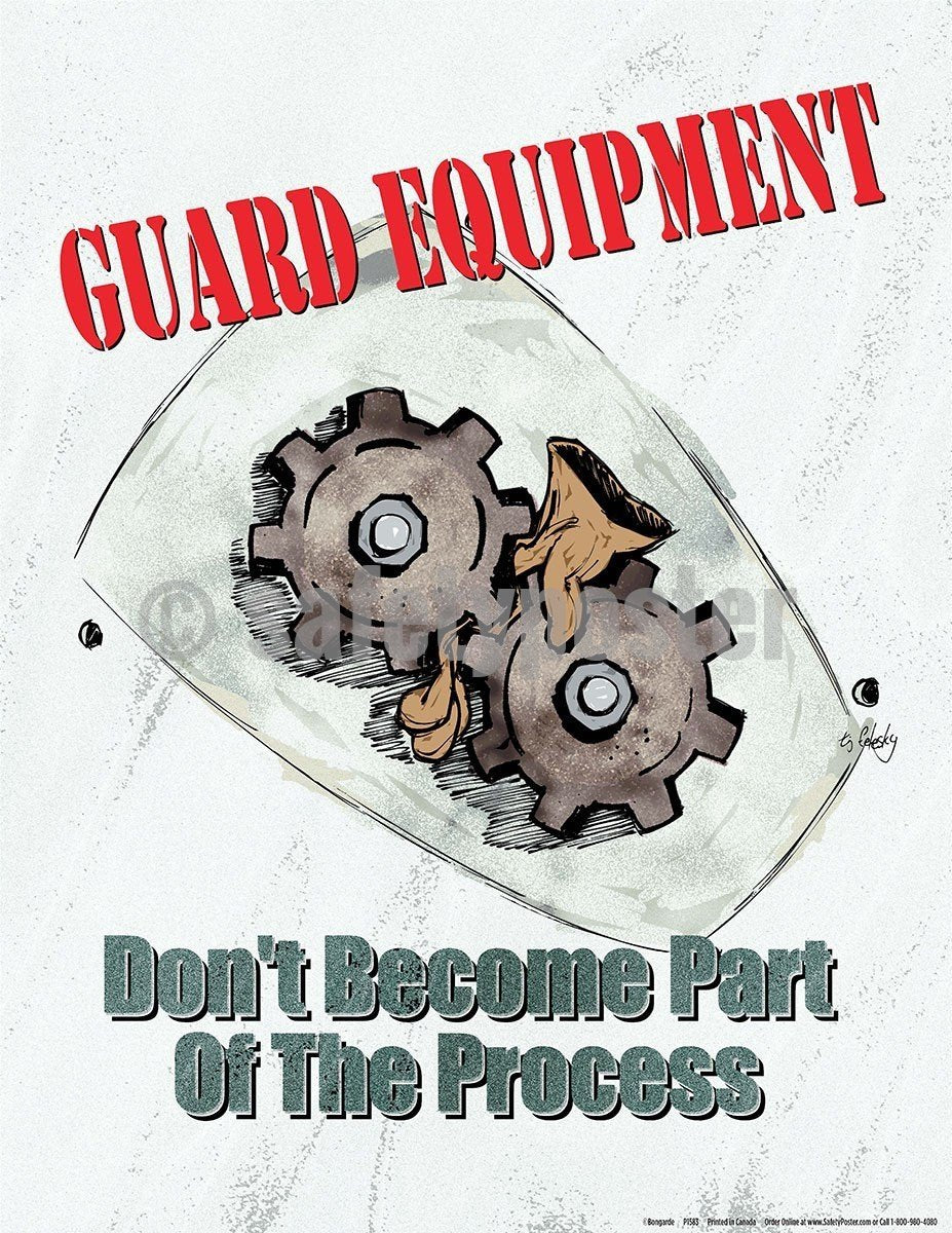 Safety Poster - Guard Equipment - safetyposter.com