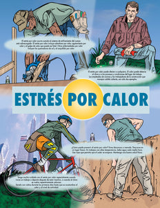 Heat Stress Basics - Spanish Safety Poster
