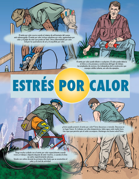 Heat Stress Basics - Safety Poster