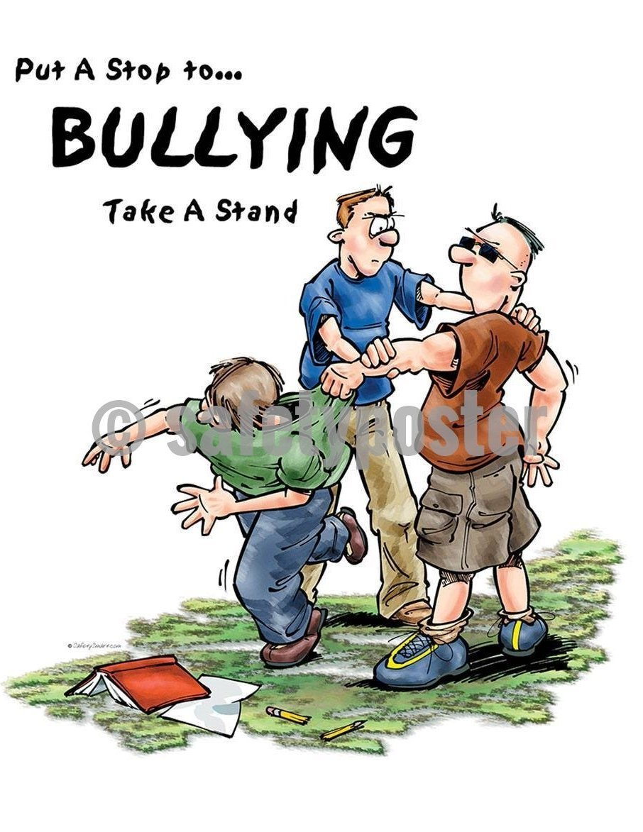 Safety Poster - Put A Stop To Bullying - safetyposter.com