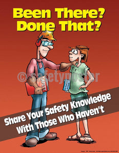 Safety Poster - Share Your Safety Knowledge - safetyposter.com