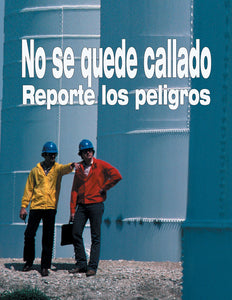Speak Up Report Hazards - Spanish Safety Poster