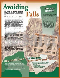 Avoiding Falls - Safety Poster General Infographic Posters