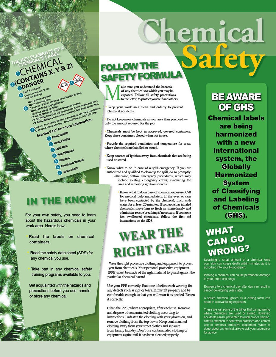 Chemical Safety Information - Poster
