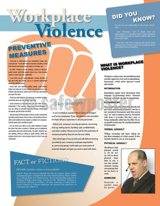 Safety Poster - Workplace Violence Infoposters - safetyposter.com