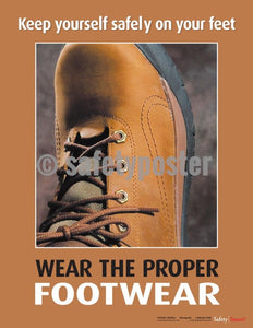 Safety Poster - Keep Yourself Safety On Your Feet - safetyposter.com