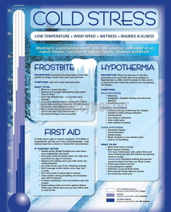 Cold Stress - Safety Poster Seasonal