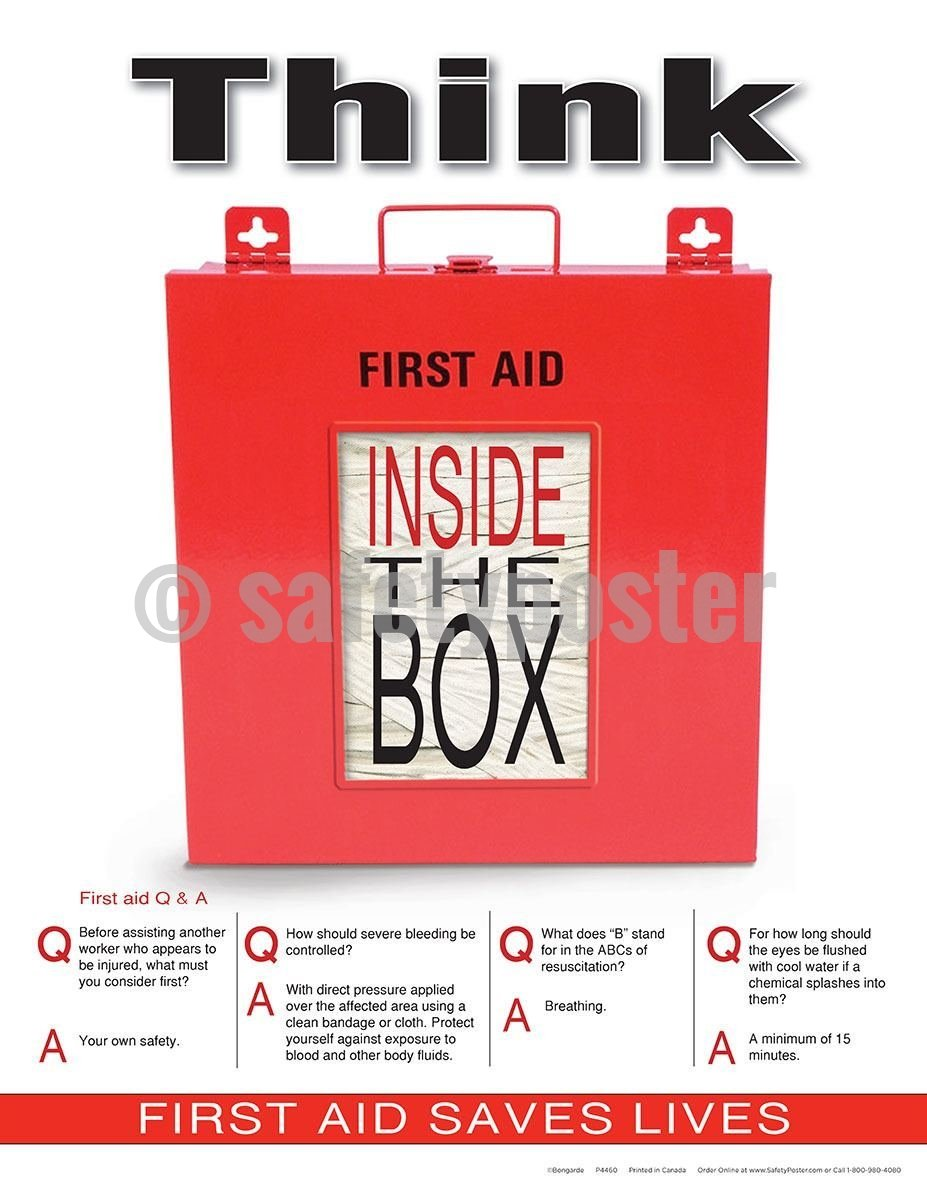 Safety Poster - Think Inside The Box - safetyposter.com