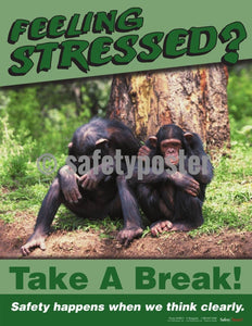 Safety Poster - Feeling Stressed? Take A Break - safetyposter.com