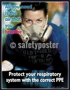 Safety Poster - Protect Your Respiratory System - safetyposter.com
