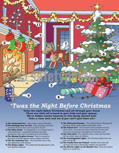 Safety Poster - Twas The Night Before Christmas - safetyposter.com