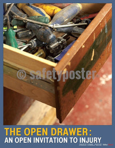 Safety Poster - The Open Drawer - safetyposter.com
