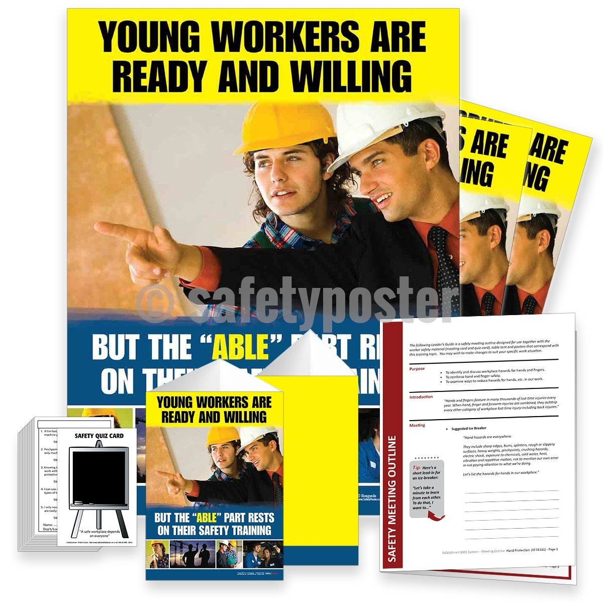 Safety Meeting Kit - Young Workers Are Ready And Willing Kits