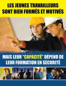Young Workers are Ready and Willing - French Safety Poster