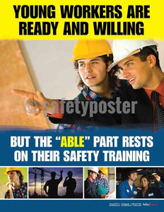 Young Workers Are Ready And Willing - Safety Poster Leadership