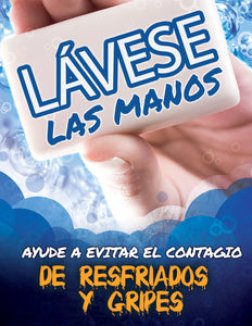Wash Your Hands - Spanish Safety Poster