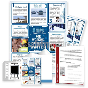 Safety Meeting Kit - 8 Tips For Working Safely In Winter Kits