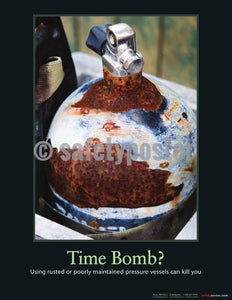 Safety Poster - Time Bomb? - safetyposter.com