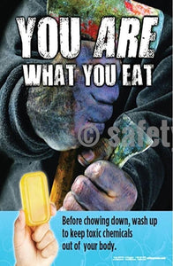 Safety Poster - You Are What You Eat - safetyposter.com