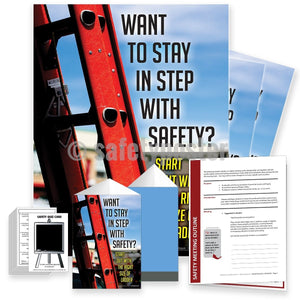 Safety Meeting Kit - Start With The Right Size Of Ladder Kits
