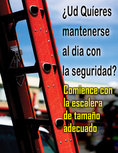 Want To Stay In Step With Safety - Spanish Safety Poster
