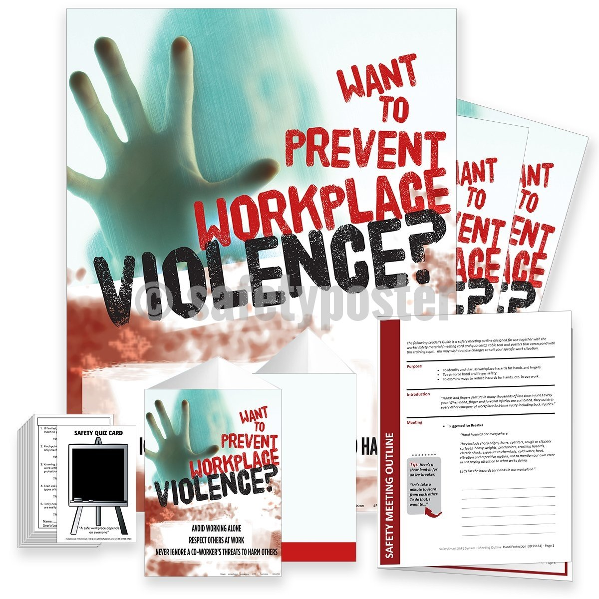 Safety Meeting Kit - Prevent Workplace Violence Kits