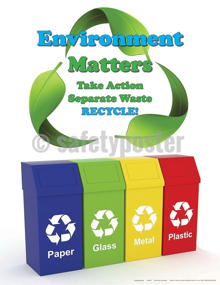 Safety Poster - Environment Matters Take Action - safetyposter.com