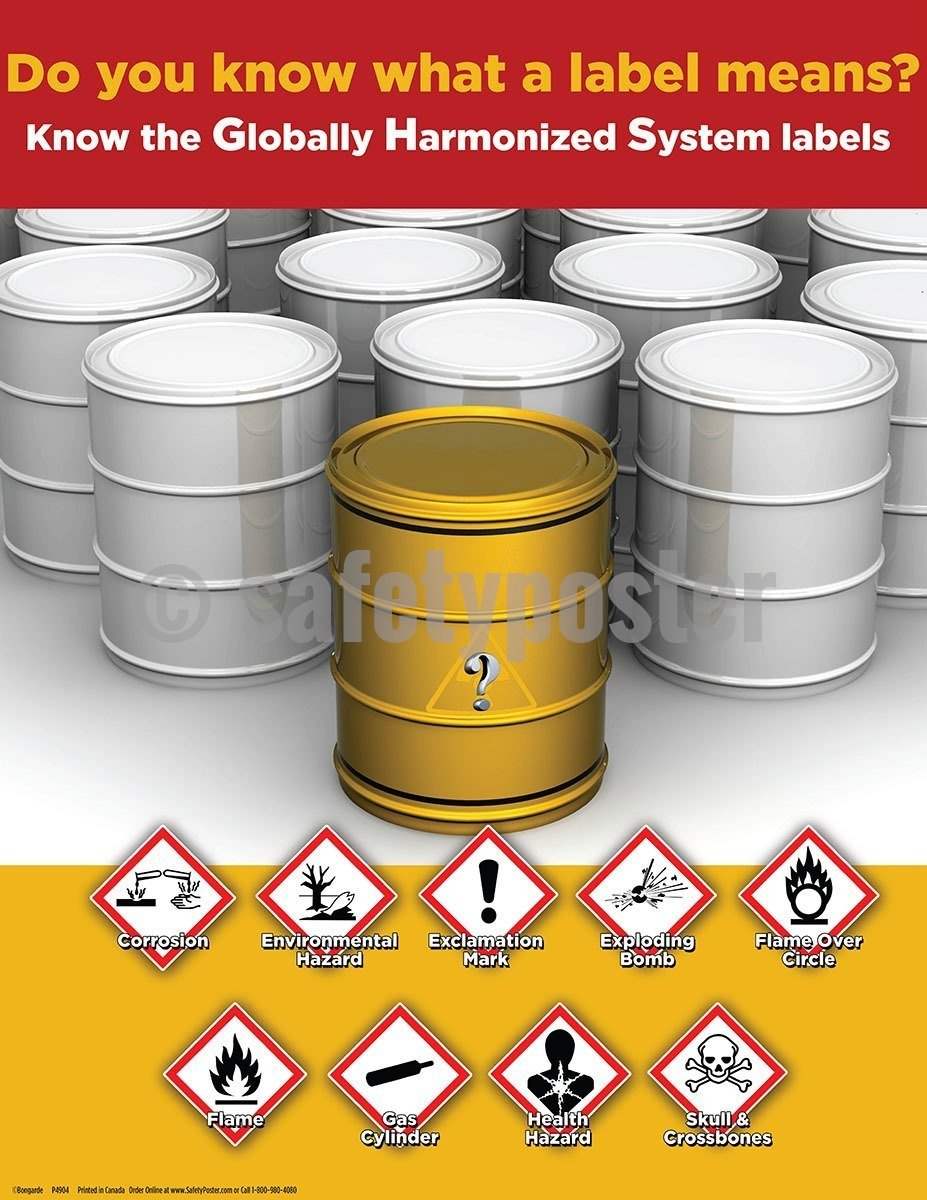 Safety Poster - Do You Know What A Label Means? - safetyposter.com