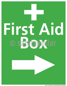 Safety Poster - First Aid Box - safetyposter.com