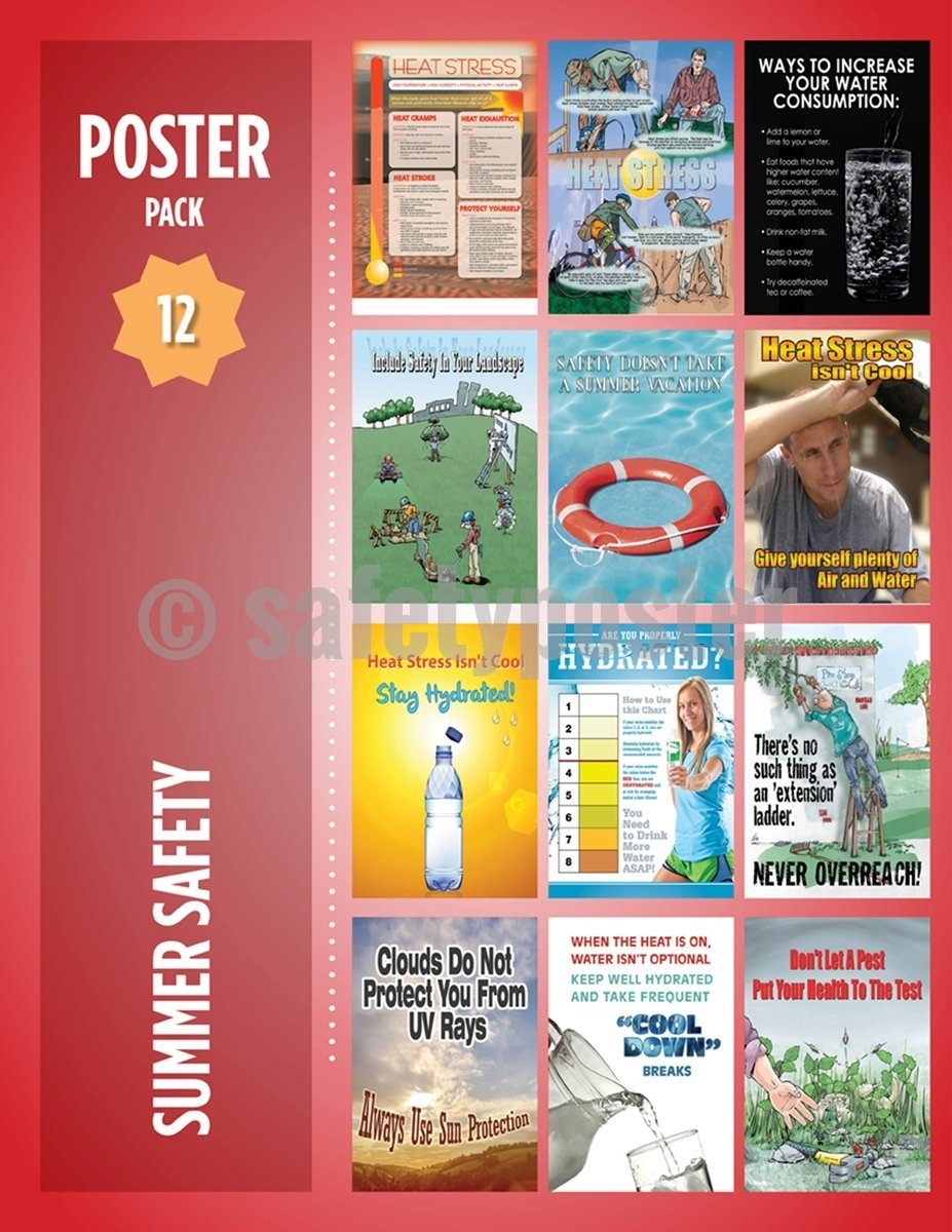 Safety Posters Pack - Summer Poster Packs